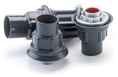 PVC Coated Rigid Conduit Hubs