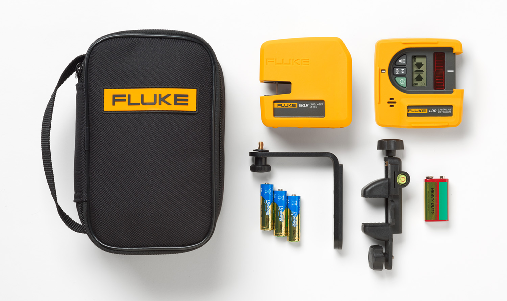 FLUK FLUKE-180LR 2 LINE LASER LEVEL RED