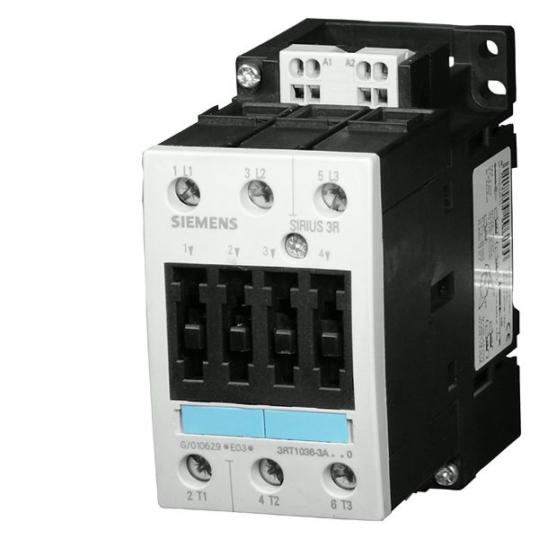 S-A 3RT1044-1AR60 CONTACTOR S3 65A