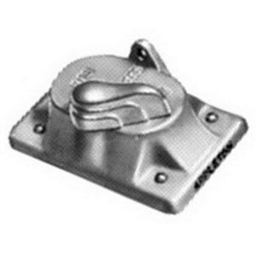 APPLETON FSK-1VS TUMBLER SWITCH COVER 1GANG MALLEABLE IRON