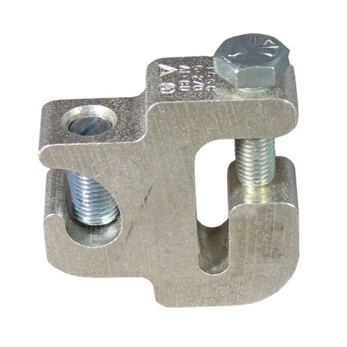 Cable Tray Grounding Conductor Clamp, Material: Copper Free Aluminum, Finish: Electro tinplated, For 6 - 2/0 AWG Grounding Wire