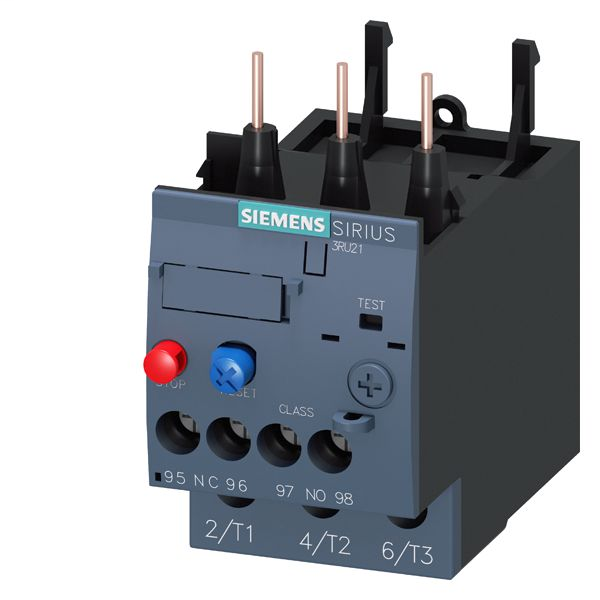 SIEM 3RU21264DB0 OVERLOAD RELAY CL10 S0 20-25A SCREW