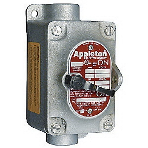 Mayer-APP EDSC2130 1-G 3/4 SNAP SWITCH S-1