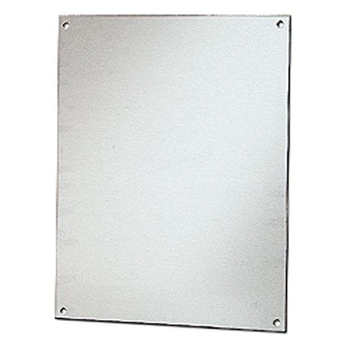 STAHLIN Aluminum mounting back plate to compliment our enclosures.