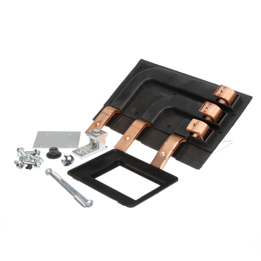 FD frame breaker ( 3-pole, max. 250A) strap kits for use as Main or Subfeed in S1/S2/SE 400-600A panels.
