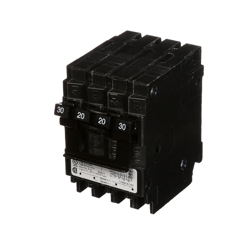 MUR MP220230CT2 BREAKER (1)20A 2P/(1)30A 2P 10K MH-T