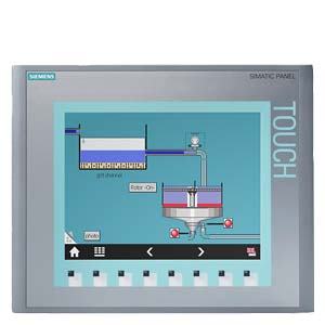 Siemens Industry 6AV66470AF113AX0 10 Inch TFT Display Basic Panel Key and Touch Operation Human Machine Interface