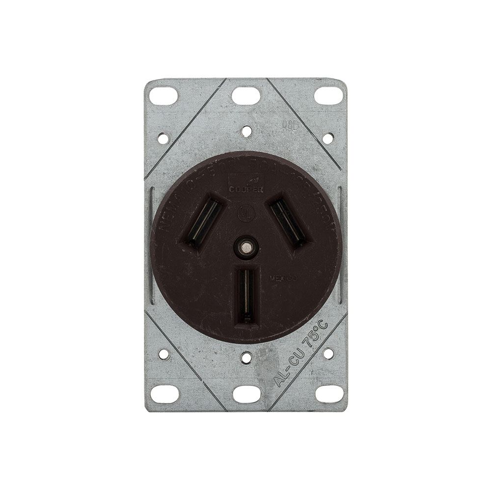 Shop Cooper Wiring Devices 30amp White Double Pole Light Switch At