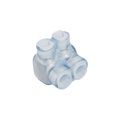 PAND PCSB2/0-2S-6 MULTI-TAP CONNECTOR SINGLE-SIDED CLEAR