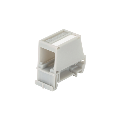 PAND CADIN1IG DIN RAIL MOUNT ADAPTER WITH LABEL, SINGL