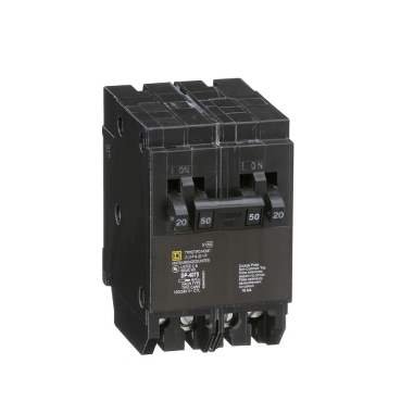 SQD HOMT2020250 20A 120/240V TWIN CIRCUIT BREAKER