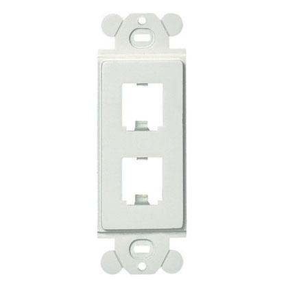 PAND CFG2WH GFCI FRAME 2 PORT WHITE