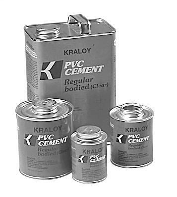 PVCGLQT VC9982/ 7210413/CWC20/ QUART PVC CEMENT All WEATHER 078886