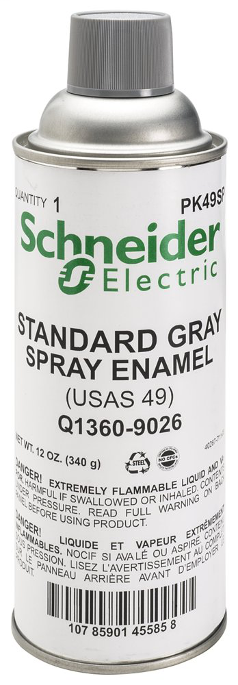 SQD PK49SP GRAY PAINT (MSDS)   Springfield Electric Supply Co