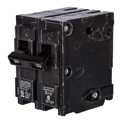 SIEM Q230 BREAKER 30A 2P 120/240V 1 K QP TOP 500 ITEM