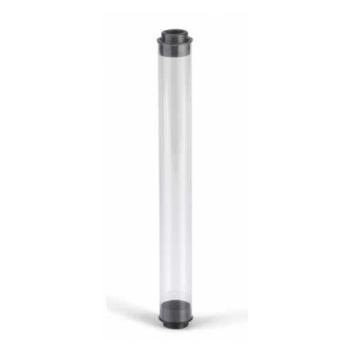 EPCO 17183 TUBE GUARD; CLR, T5 HD SERIES, 4FT, Black VENTED END CAPS