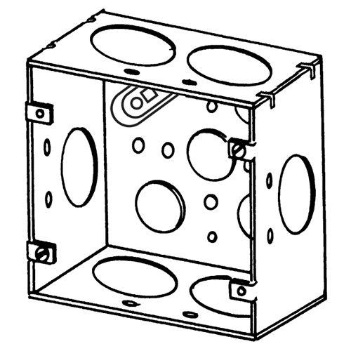 Steel Outlet Boxes Covers Floor Boxes