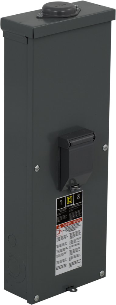 SQD QOM22225NRB 200AMP WP ENCLOSURE