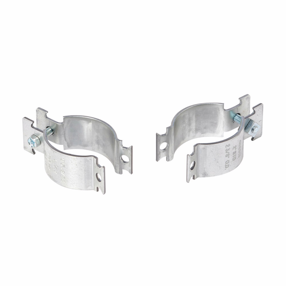 B-L 4D2003PAZN 4D PIPE AND CONDUIT CLAMP PRE-ASSEMBLED EMT 1-IN ZINC TOP 500 ITEM