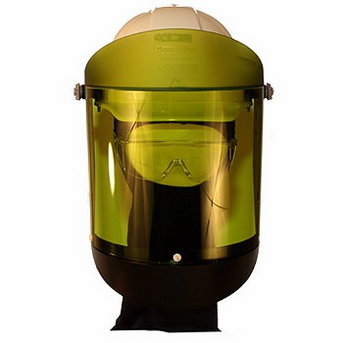 Cementex,AFS-150,FACE SHIELD,12 CAL/SQ-CM,WITH HARD HAT