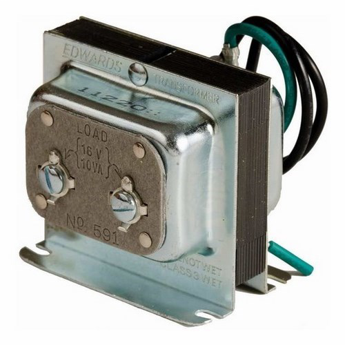 EDW 591 TRANSFORMER, 120V AC PRIMARY, 16V SECONDARY
