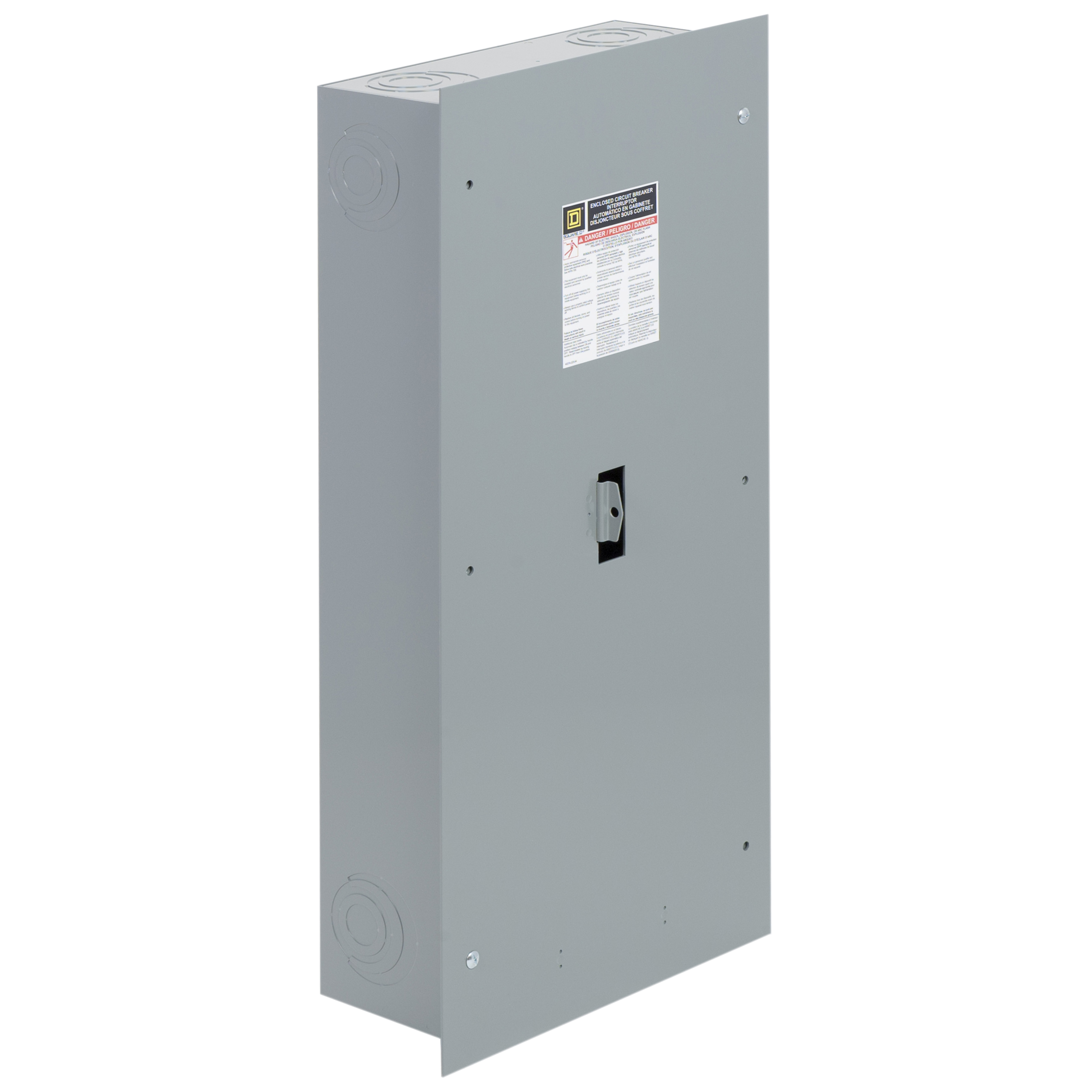 SQD J250S ENCLOSURE FOR CIRCUIT BREAKER NEMA 1