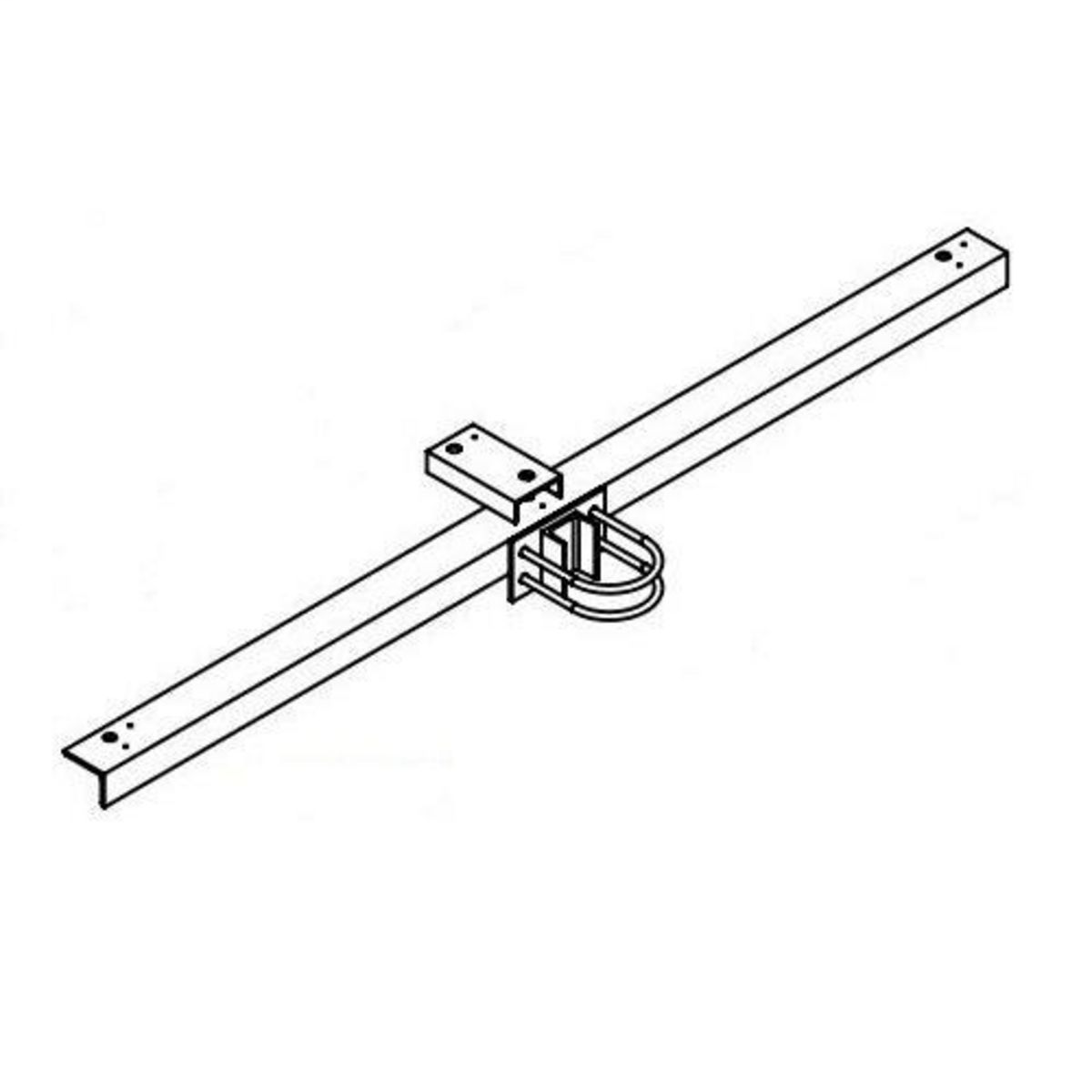 Hubbell Sportslighter Solutions,TCA-R3,Mount Accessory, Round pole, 3 fixtures