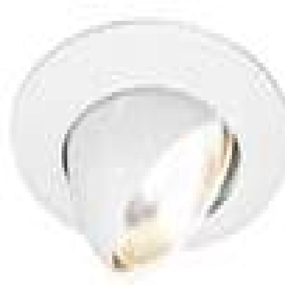 Capri,R18P,6 in. Eyeball, White Trim for BR30 Lamp