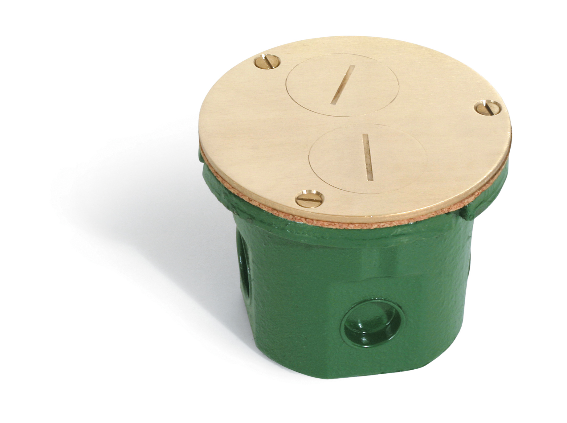 Lew Electric Fittings,812-DFB,WOOD FLOOR BOX WITH 523-DP COVER