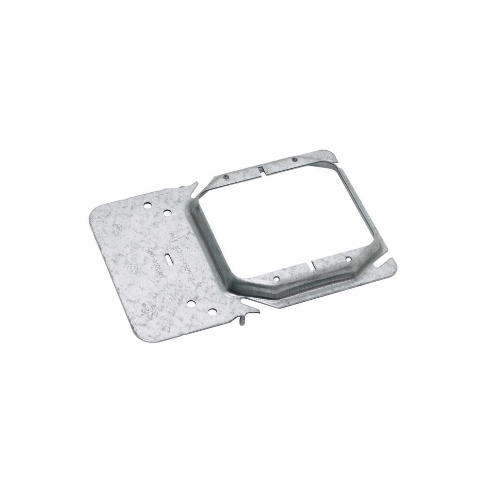 Cooper B-Line,BB45-10,UNI-MOUNT BOX SUPPORT COVER PLATE MOUNTING BRACKET, DOUBLE GANG, FOR 1/2-IN. DRY