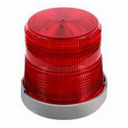Edwards Signaling,48XBRMR120A,LED,STEADY OR FLASHING,Red