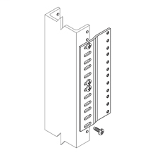 Cooper B-Line,SB576A04FB,ADAPTER PLATE, 6 15/16-IN. OVERALL HEIGHT, 4 MTG SPACES, FLAT BLACK