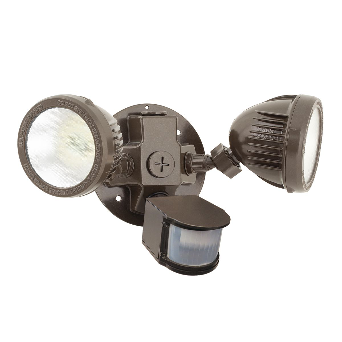 HUBBELL LIGHTING OUTDOOR,ML-2L3K-1-DB,Security floodlight, color: Dark Bronze