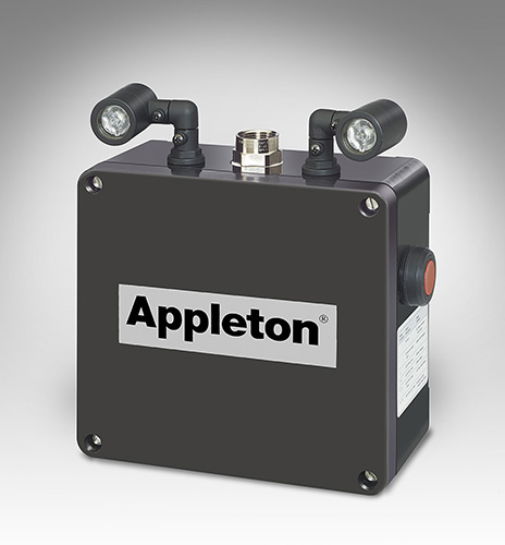 APPLETON,N2LED2T1,N2LED, MASTER UNIT TWO LAMP HEADS, TOP ENTRY