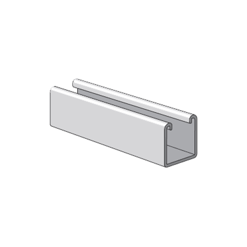 POWS PS200-10-PGAL CHANNEL 1-5/8 SOLID GALVANIZED