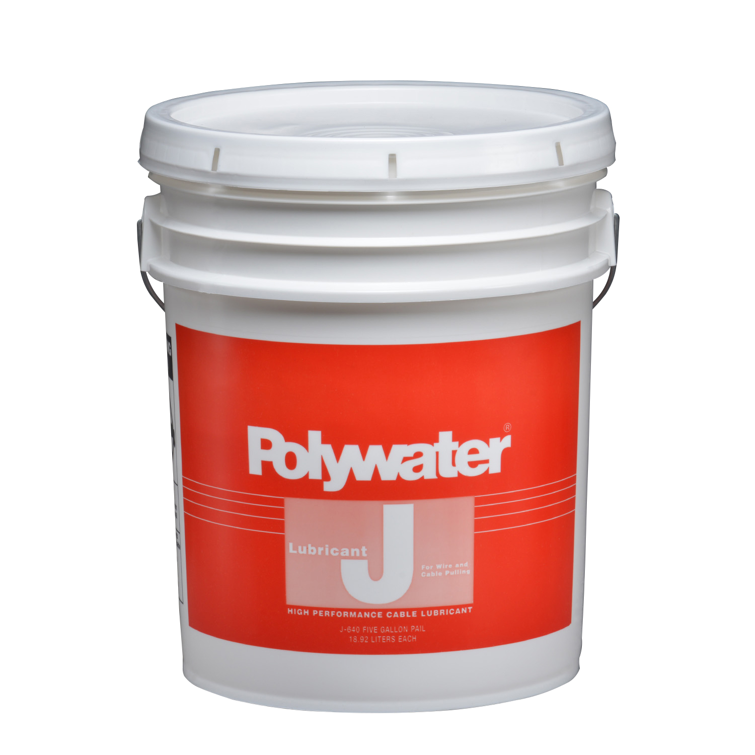 American Polywater,J-640,5-Gal Polywater® Lubricant J