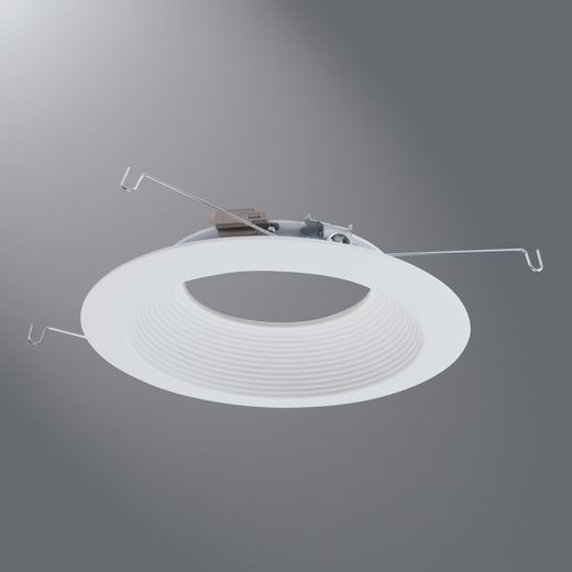 Halo - Recessed,696WB,6IN LED DOWNLIGHT TRIM, MATTE WHITE MICR