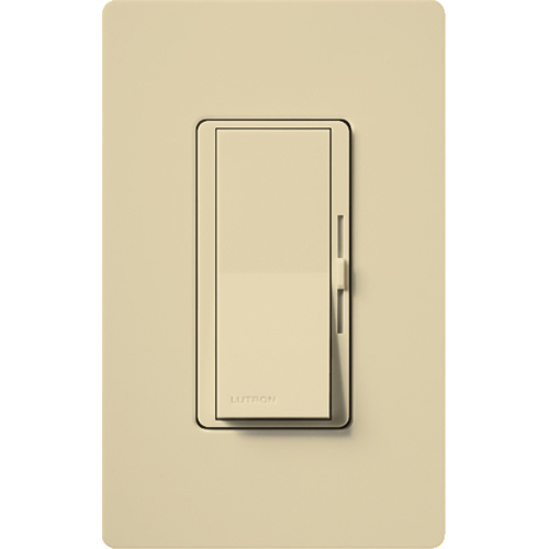 Diva (gloss) C•L single pole/3-way dimmer. Max ratings are 250W LED/CFL or 600W incandescent/halogen or 350W Lutron Hi-Lume 'LTE' drivers (max 8 drivers).