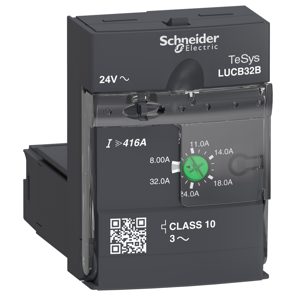 Advanced control unit LUCB - class 10 - 8...32 A - 24 V AC