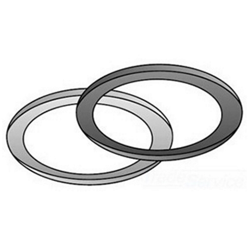 OZ-Gedney Type 4Q-G Liquidtight Sealing Ring Assembly, Trade Size: 1 IN, Steel Retaining Ring, Neoprene Gasket, Finish: Zinc Electroplated, For Providing A Positive Seal Between Shoulder Of Fitting And Enclosure