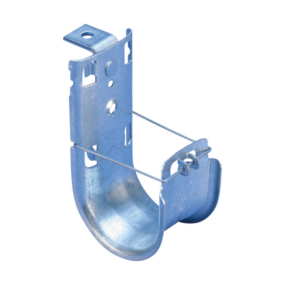 CAD CAT64HPAB CADDY CAT HP J-HOOK WITH ANGLE BRACKET, 4IN DIA, 1/4IN HOLE