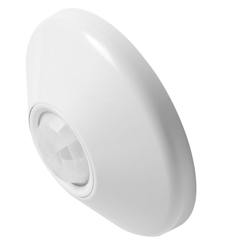 Low Voltage Ceiling Mount Sensor , Passive Dual Technology , Small Motion / Standard Range 360deg Lens , Rear RJ-45 Ports, SKU - 230CER