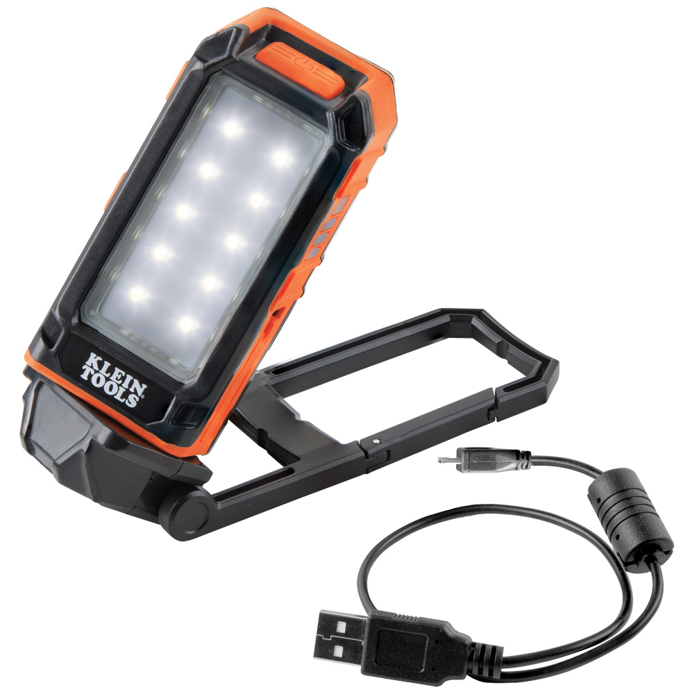 Rechargeable Personal Worklight, Versatile Rechargeable Personal Worklight stands, hooks, hangs, and mounts magnetically