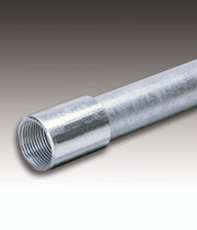 "CONDUIT RIGID GALVANIZED 2-1/2""X10'"