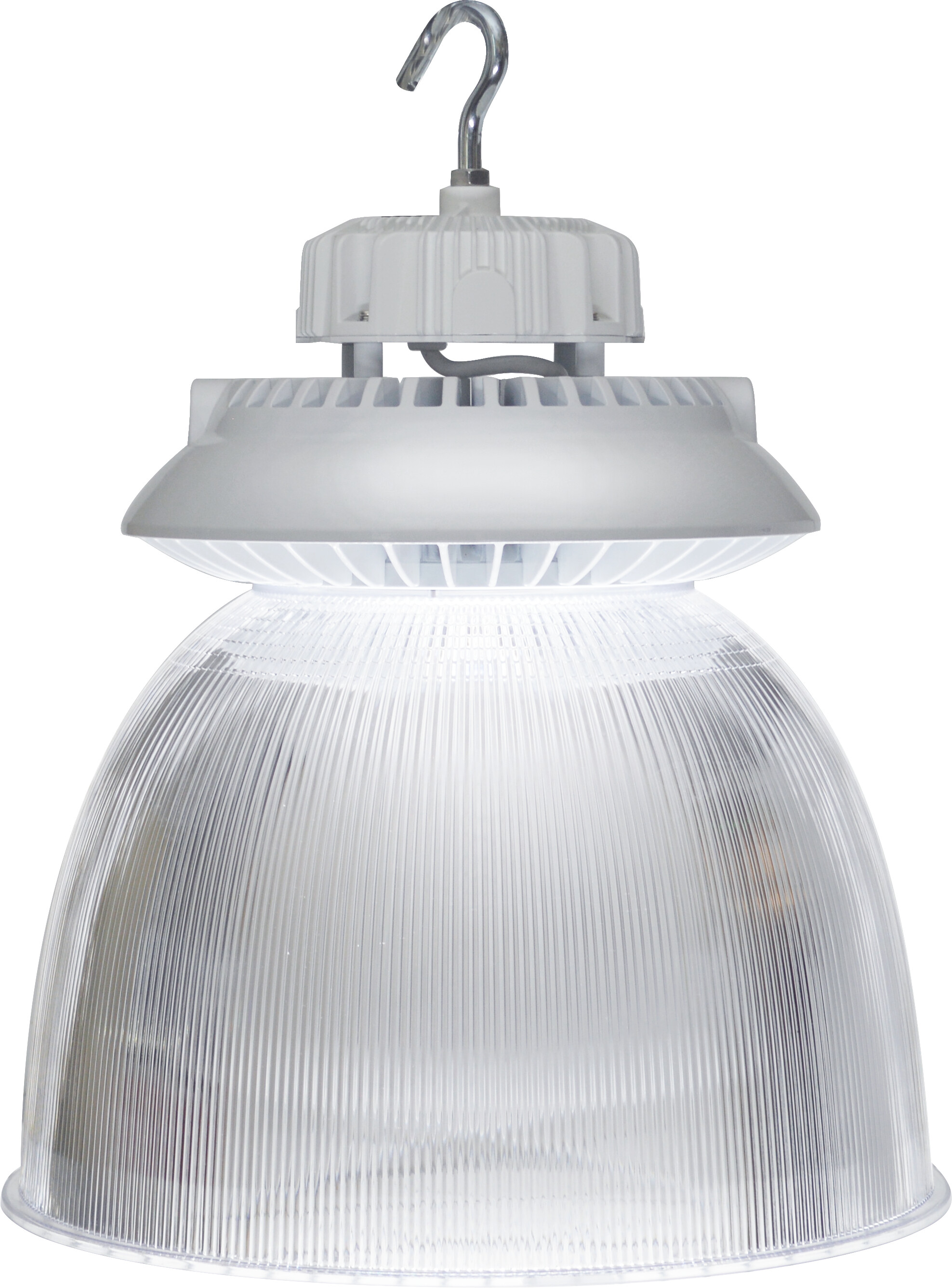 Features: BAY LIGHT REFLECTOR POLYCARBONATE 70 DEGREE BEAM
