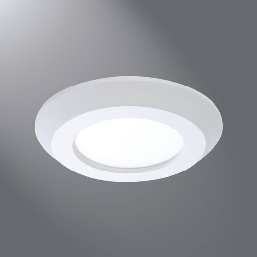 Halo AIR-TITE® SLD405830WH Recessed Downlight, LED Lamp, 12.2 W Fixture, 4 in Ceiling Opening, 120 VAC, Aluminum Housing