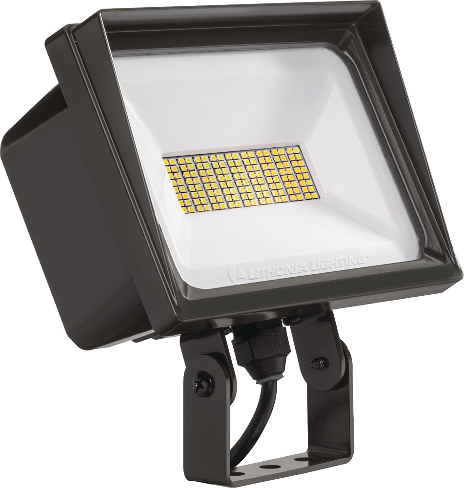 QTE, LED, Package 3, 4000K, 120V, Yoke/trunnion mount, Dark bronze finish, SKU - 249XNR