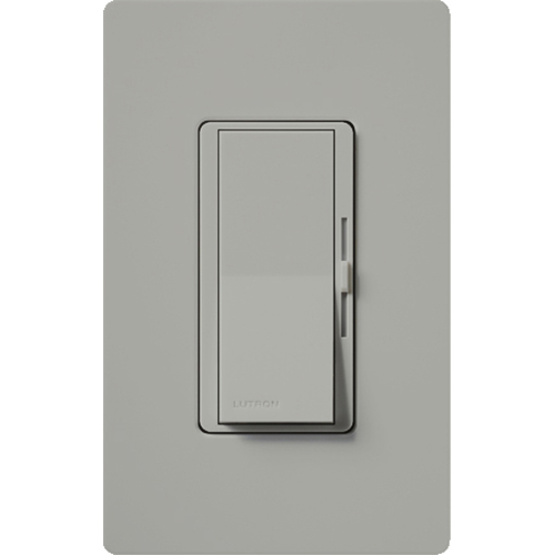 Diva (gloss) C•L single pole/3-way dimmer. Max ratings are 150W LED/CFL or 600W incandescent/halogen.