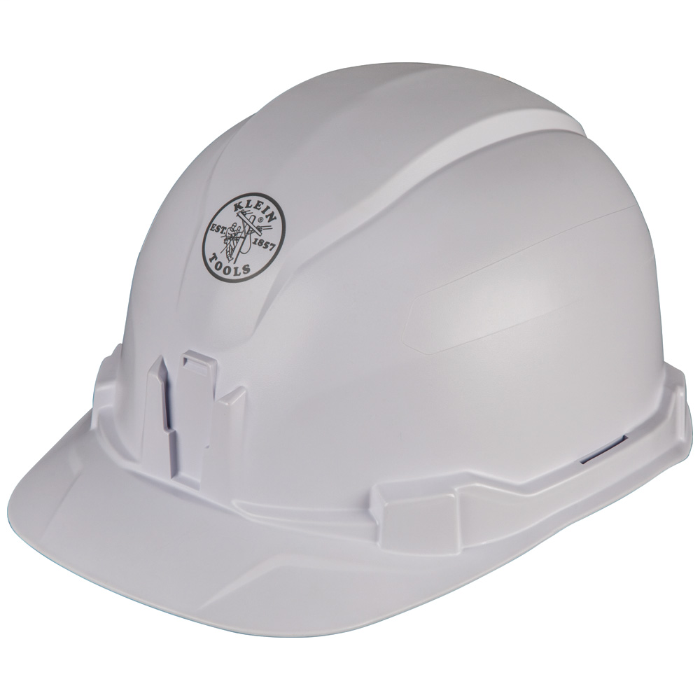 Hard Hat, Non-vented, Cap Style, Tested up to 20kV, this Class E, Type 1 hard hat meets ANSI Z89.1-2014, CSA Z94.1-15 EN397:2012+A1:2012-Lateral Deformation (LD) standards