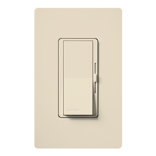 Diva (gloss) 450W, single pole, magnetic low voltage dimmer